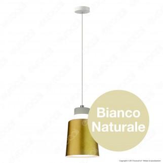 V-TAC VT-7333 Lampadario LED 7W Campana Color Oro - SKU 3928 / 3934