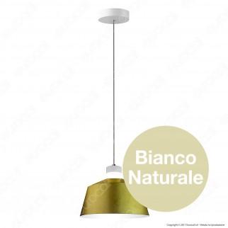 V-TAC VT-7444 Lampadario LED 7W Campana Color Oro - SKU 3936 / 3930