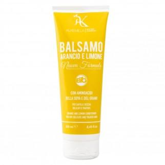 Alkemilla Balsamo Capelli Bio Arancio e Limone - Flacone da 250ml