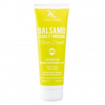 Alkemilla Balsamo Capelli Bio Cedro e Finocchio - Flacone da 250ml