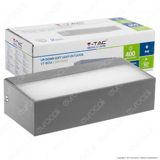 V-Tac VT-8056 Lampada LED da Muro 9W Wall Light Doppia Up&Down - SKU 8241
