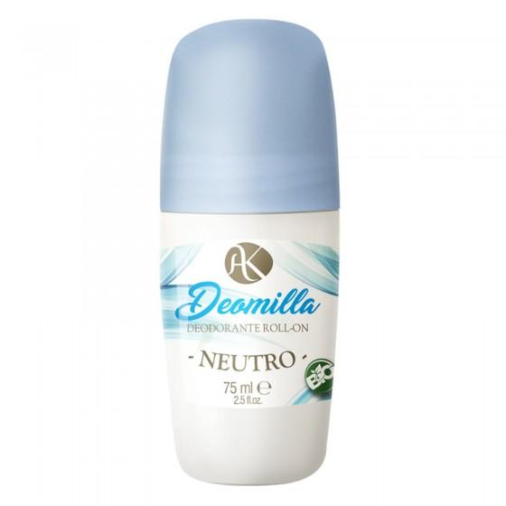 Alkemilla Deomilla Neutro Bio Deodorante Roll-on - Flacone da 100ml