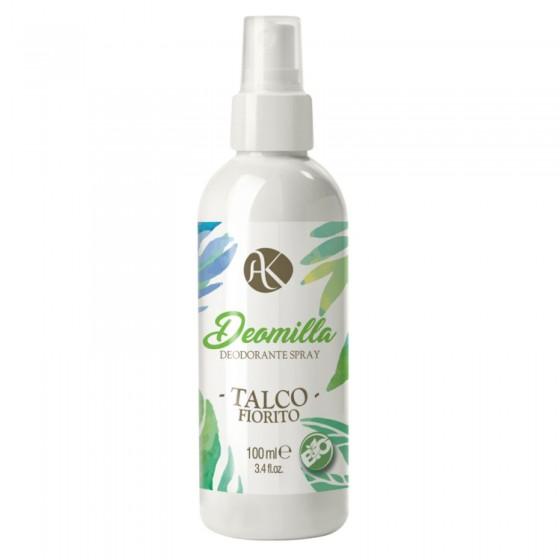 Alkemilla Talco Fiorito Bio Deodorante Spray - Flacone da 100ml