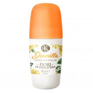Alkemilla Deomilla Fiori di Primavera Bio Deodorante Roll-on - Flacone da 75ml