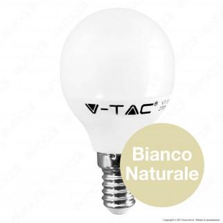 V-Tac VT-1880 Lampadina LED E14 5,5W MiniGlobo P45 - SKU 42501 / 42511 / 42521