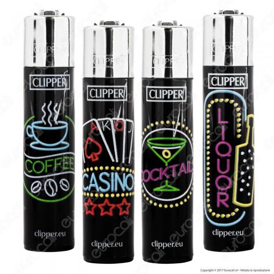 Clipper Large Fantasia Soho Lights - 4 Accendini