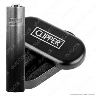 Clipper Metal Large in Metallo Black Gradient - 1 Accendino