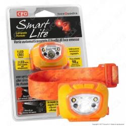 CFG Smart Lite Torcia Frontale con Sensore di Prossimità