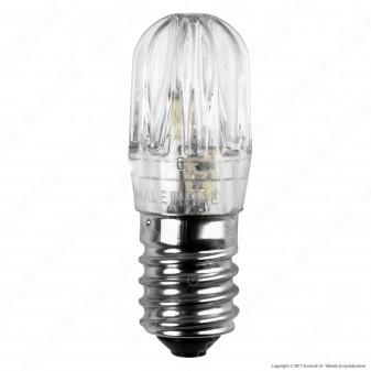 FAI Lampada Votiva LED E14 2W Bulb Luce Ambrata 24V