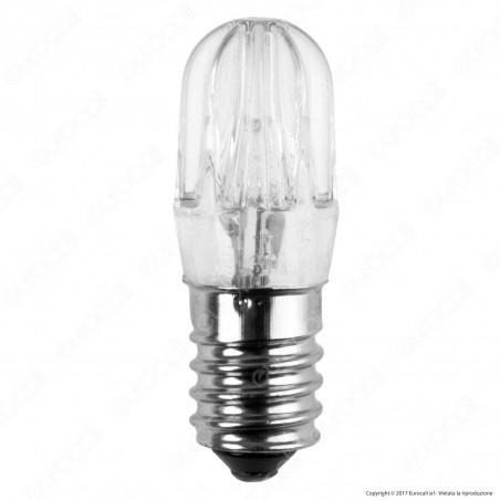 FAI Lampadina Votiva LED E14 0,96W Bulb Luce Bianca Calda 24V - mod. 5161