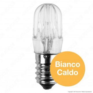 FAI Lampadina Votiva LED E14 2W Bulb Luce Calda 24V