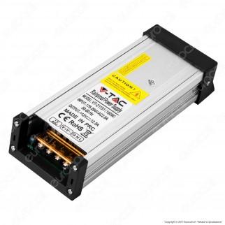 V-Tac VT-21151 Alimentatore 150W 12V Rainproof IP45 a 1 Uscite con Morsetti a Vite - SKU 3231