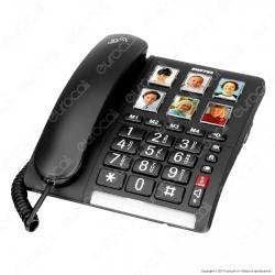 Switel TF 540 Telefono Fisso con Tasti Grandi per Portatori di Apparecchi Acustici