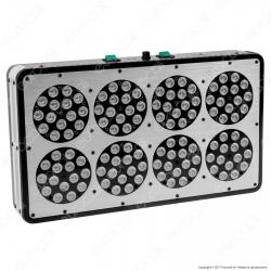 Ortoled 8 con Spettro Growlux Lampada LED 384W per Coltivazione Indoor
