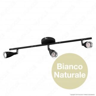 V-Tac VT-813 Lampada da Muro Wall Light LED 13,5W Colore Nero - SKU 8271 / 8273