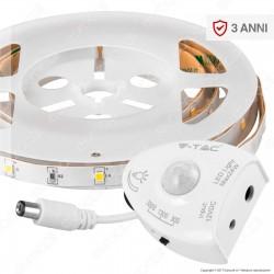V-Tac VT-8067 Bedlight Kit Striscia LED con Sensore e Alimentatore per Letto Singolo - SKU 2549