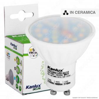 Kanlux TRIColor Lampadina LED GU10 5W Faretto Spotlight -mod.22910