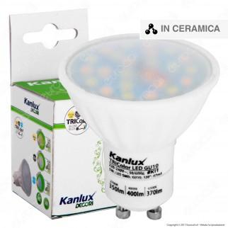 Kanlux TRIColor Lampadina LED GU10 5W Faretto Spotlight
