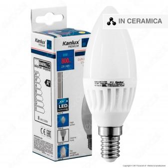 Kanlux DUN HI Lampadina LED E14 8W Candela -mod. 26760 / 26761