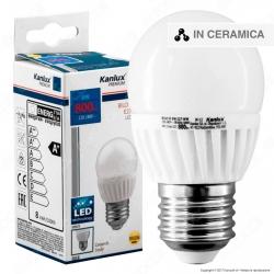 Kanlux BILO HI Lampadina LED E27 8W MiniGlobo G45 - mod.26764 / 26765