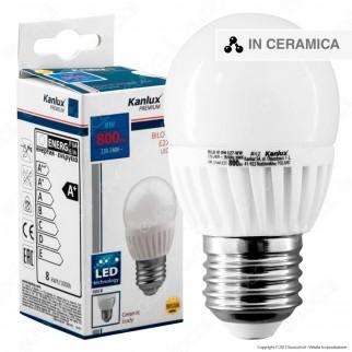 Kanlux BILO HI Lampadina LED E27 8W MiniGlobo G45