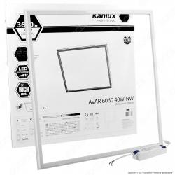 Kanlux AVAR Pannello LED a Cornice 60x60 40W SMD con Driver -mod.26770