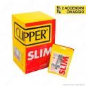 PROV-D00049035 - Clipper Slim 6mm Lisci - Box 34 Bustine da 120 Filtri + 50 Cartine Corte