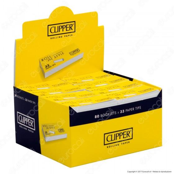 Clipper Filtri in Carta - Scatola da 80 Blocchetti