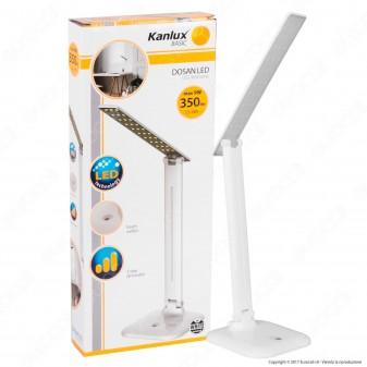 Kanlux Dosan Lampada da Tavolo LED 9W Touch Dimmerabile