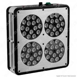 Ortoled 4 con Spettro Growlux Lampada LED 192W per Coltivazione Indoor