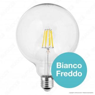 SkyLighting Lampadina LED E27 10W Globo G125 Filamento