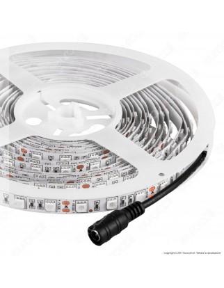 V-Tac Striscia LED 5050 Monocolore 60LED/metro - Bobina da 5 metri - SKU 2137