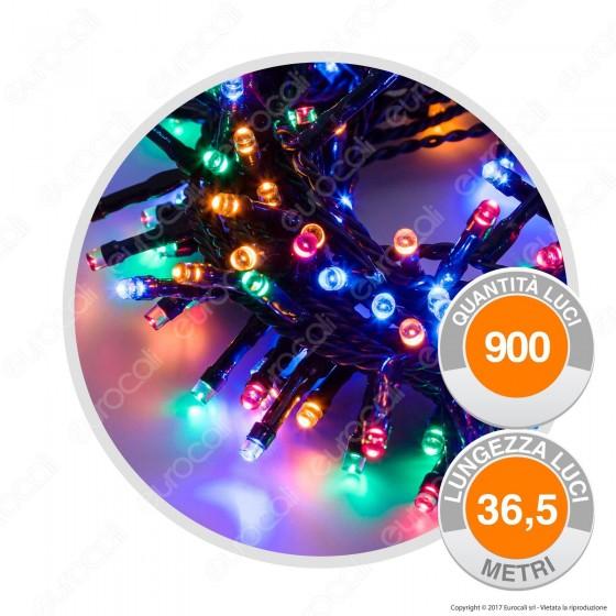 Catena 900 Luci LED Reflex Multicolore con Controller Memory - per Interno e Esterno