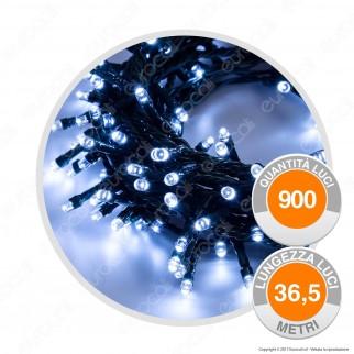Catena 900 Luci LED Reflex Bianco Freddo con Controller Memory - per Interno e Esterno