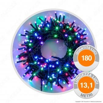 Catena 180 Luci LED Reflex Multicolore con Controller Memory - per Interno e Esterno