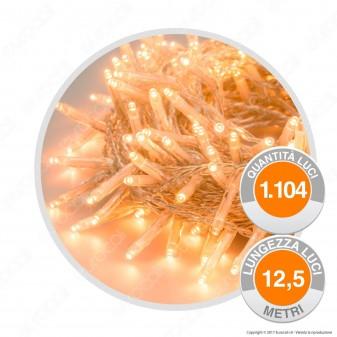 Catena 1104 Luci LED Reflex Bianco Caldo con Controller Memory - per Interno e Esterno