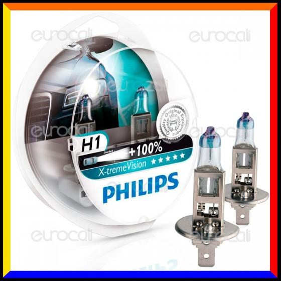 Philips X-Treme Vision Alta Visibilità - 2 Lampadine H1