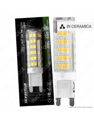 Silvanylux Lampadina LED G9 7W Bulb - mod. GRN632/1 / GRN632/3 / GRN632/2