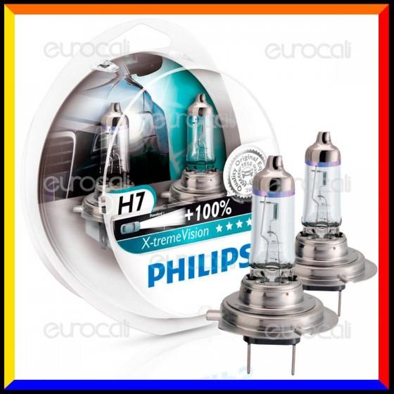 Philips X-Treme Vision Alta Visibilità - 2 Lampadine H7