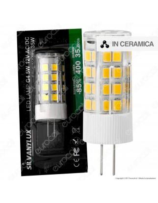 Silvanylux Lampadina LED G4 5W Bulb - mod. GRN628/1 / GRN628/2