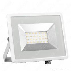 V-Tac VT-4621 I-Series Faretto LED SMD 20W Ultra Sottile da Esterno Colore Nero - SKU 5878 / 5879 / 5880