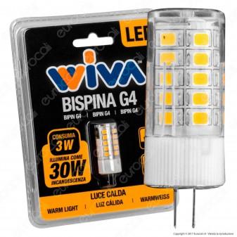Wiva Lampadina LED Bispina G4 3W Bulb - mod. 12100355
