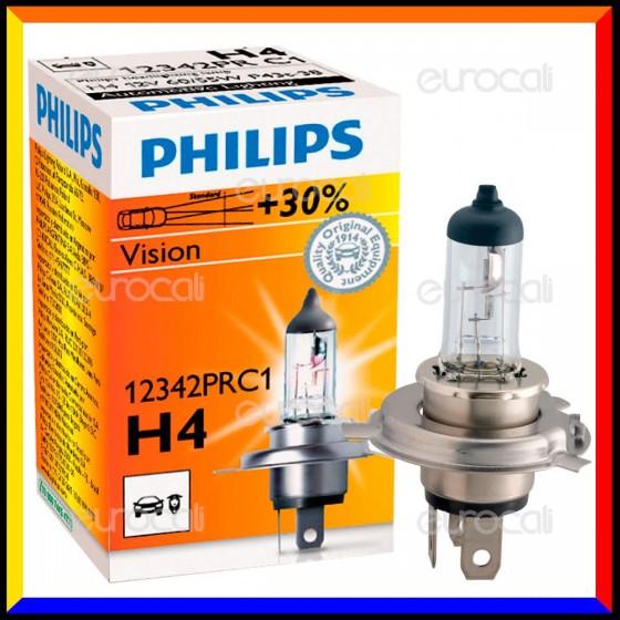 Philips Vision - 1 Lampadina H4