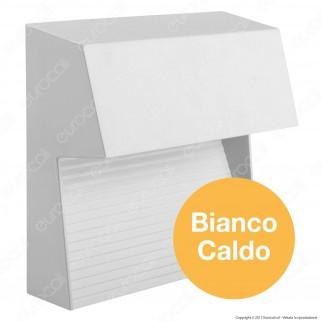 V-Tac VT-1172 Faretto Segnapasso LED a Montaggio Superficiale Quadrato 3W per Esterno Colore Bianco - SKU 1402 / 1403