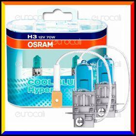 Osram Cool Blue Hyper Effetto Xenon HID - 2 Lampadine H3