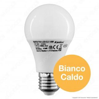 Kanlux RAPID PRO Lampadina LED E27 9,5W Bulb A60