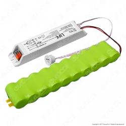 Life Kit d'Emergenza per Tubi LED con Potenza Massima di 45W - mod. 41.TEC025