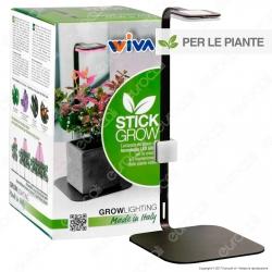 Wiva Stick Grow Lampada da Tavolo 9W Dimmerabile per Piante Indoor - mod. 41800000