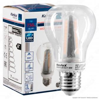 Kanlux WIDE N Lampadina LED E27 7W Bulb A60