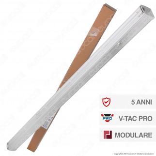 V-Tac PRO VT-4551D Linear Master Trunking Track Light Lineare 50W 90° Dimmerabile - SKU 1360